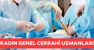 kadın genel cerrahi uzmanı